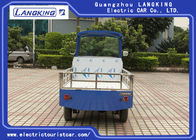 0.9 Ton 5 Seats Electric Luggage Cart With DC Motor 48v 3820 * 1430 * 1940MM