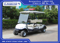Four Person Electric Golf Buggy With Free Maintain Acid Battery / Mini Electric Golf Cart