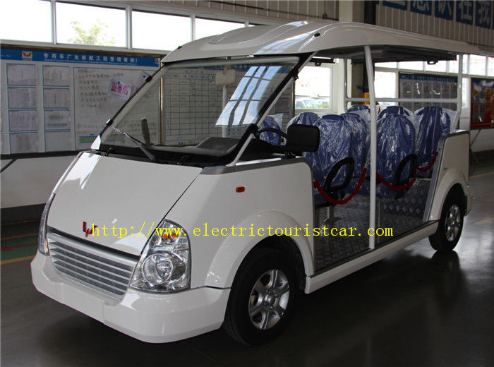 Short Distance Electric Shuttle Car Eight Seats 80km Range Multifunctional