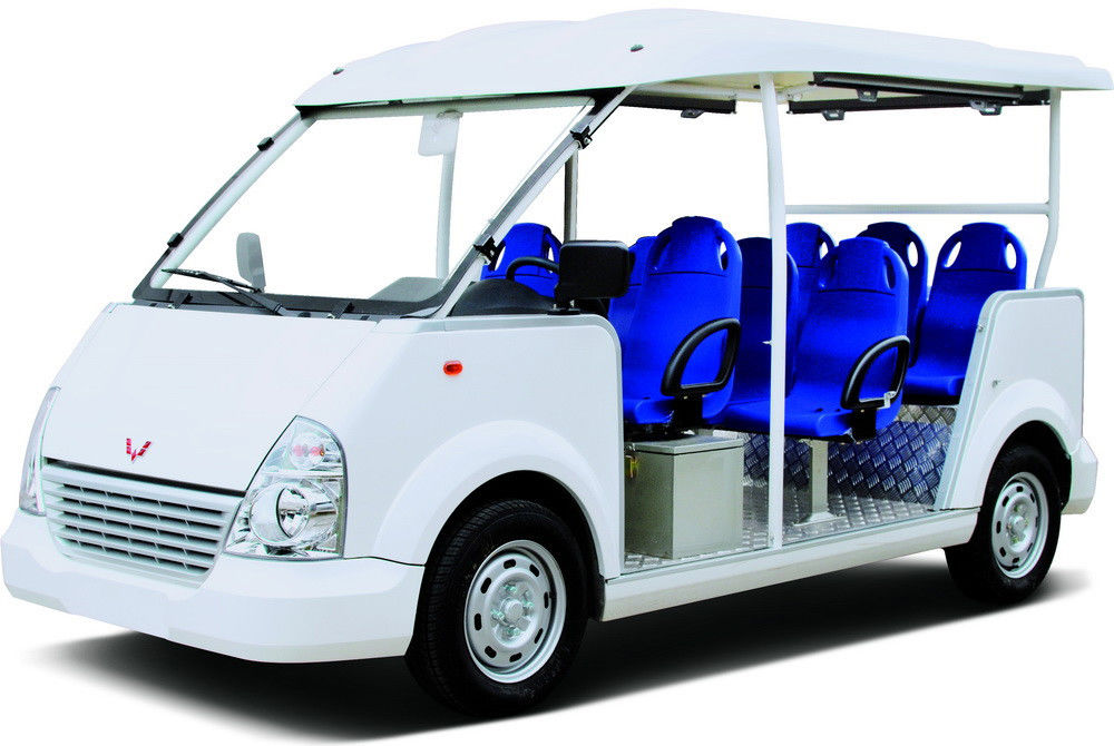 Battery Powered Electric Passenger Carts , Mini Hotel Street Legal Carts